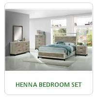 HENNA BEDROOM SET